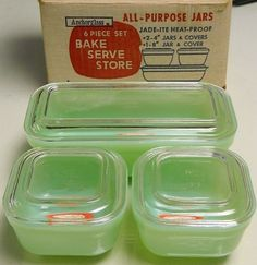 FIRE KING JADEITE 6 PIECE SET