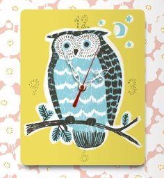 Night owl clock