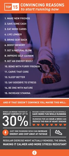 Or reasons to keep going. Not a cardio person? Check out these convincing reasons to start running, you might change your mind!   www.actioncertification.org