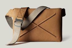 Hard Graft Leather Messenger Bag (Handmade in Italy)