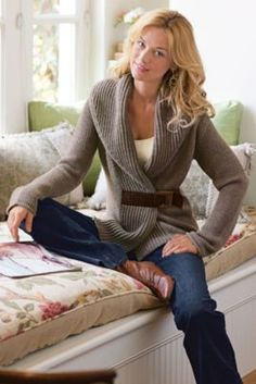 Country Weekend Sweater from Soft Surroundings