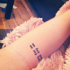 twin sister tattoo @Alissa Evans Jeske