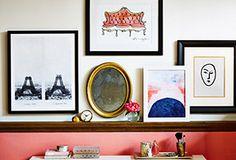 Left Bank Loft: Chic & Feminine Prints