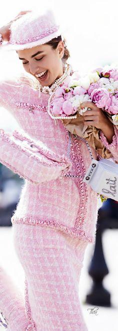 Vogue Paris September 2014 ● Andreea Diaconu in Chanel