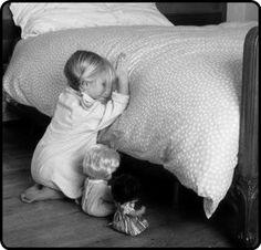 now i lay me down to sleep…