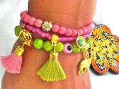 SALE GYPSY LOVE bracelet  bohemian bracelets  summer by Nezihe1