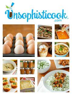 Top 10 recipes of 2013 at unsophisticook.com