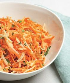 Carrot and Apple Slaw With Raisins recipe Would be great with a turkey sandwich!