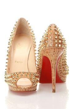Christian Louboutin - Fierce #shoes #stilettoes #fashion #heels