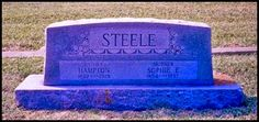 Tombstone Tuesday - Hampton Steele #genealogy #familyhistory