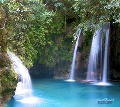 Turquoise Pool, Kawasan, The Philippines