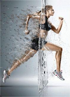 fitness motivation by Claunilla / #women's #health #fitness #motivation