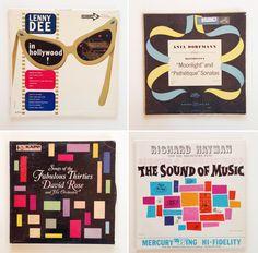 DESIGN INSPIRATION: vintage album covers