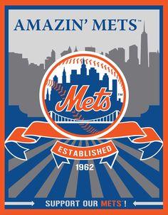 New York Mets Speakman art