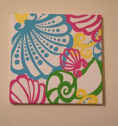 Lilly Pulitzer Painting - Chiquita Bonita on Etsy, $25.00