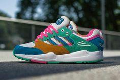 Adidas Tech Super (Solar Mint/HerbBlue)