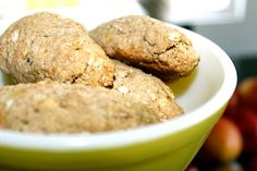 all natural, home-made teething biscuits