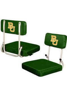Handy for the few minutes you get to sit down in between #Baylor touchdowns... // #Baylor Hardback Stadium Seat, $35 at Baylor Bookstore