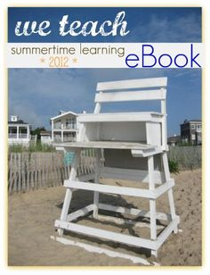 free summertime learning eBook: ways to make summer learning FUN! #weteach
