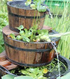 Bassin on pinterest koi ponds koi and water features - Mini bassin de jardin ...