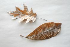 Leaf Doodles - Kid Friendly, Autumn DIY!