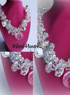 Wired Hanger is beautifully unique jewelry. Handcrafted, designed and owned by a seriously creative mother/daughter duo in Massachusetts. Seeing these pieces first hand I can honestly say that they are even more gorgeous in person. Check them out at:   https://m.facebook.com/WiredHanger?id=155142164534805&refsrc=https%3A%2F%2Fwww.facebook.com%2FWiredHanger  Or email them at: Wired.Hanger@aol.com