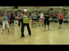 """""""Dance With Me"""" Zumba routine - I loved this song way back when it came out. Never thought of it for Zumba. :)"""