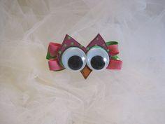 Owl barrette...too cute