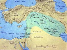 Mr.Guerriero's Blog: Ancient Map: The Fertile Crescent