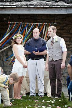 Such a cute wedding!
