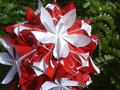 JHOLANDA ORIGAMI: double flower