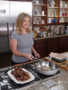 Trisha hosts a surprise supper for her band on tomorrow's Trisha's Southern Kitchen! Tune it at 10:30am ET for Slow Cooker Stout Beef Stew and a performance!