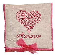 valentine's day cross stitch pattern  french country amour by JBW Designs at thecottageneedle.com