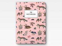 Forest Animals Notebook