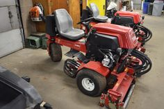 2003 Toro 2000 D Reel Mower with < 1000 hrs for sale
