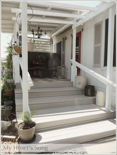 My Hearts Song: Front Porch Update