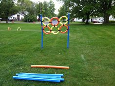 The Leader of the Pack: Cub Scout Obstacle Course