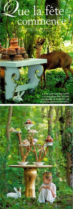 Woodland party...is always my dream
