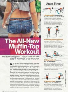 All new muffin-top workout