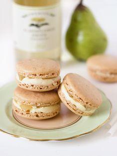 macaron recip, sweet treat, elderflow macaron, macaron cooki, food, french macaron, macaroon, pears, elderflower macaron