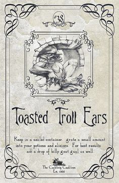 Tosted Troll Ears Label | Flickr - Photo Sharing!