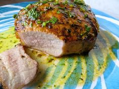 Havana Grilled Pork Chops