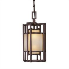 """The Underscore Collection      Cimarron Bronze Finish      Brushed Caramel Silk Glass    Specifications:        21.25"""" high x 10"""" diameter      Adjustable overall fixture height      Takes (2) 60-watt (max. each)"""