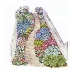 Free garden plans group board on pinterest 106 pins - Free shade garden design plans ...
