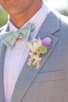 boutonnier, romanc, button, bow ties, suit, carousel, floral designs, groom, california wedding