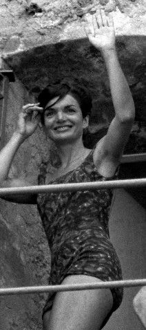 Jackie Kennedy in Italy ~ summer of 1962