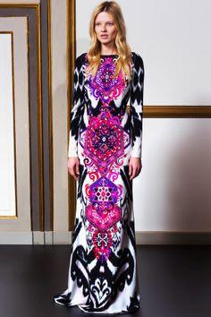 Emilio Pucci fashion collection, pre-autumn/winter 2014