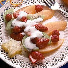 Orange Poppy Seed Fruit Salad
