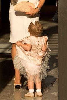 I had never seen this picture of Princess Estelle before!