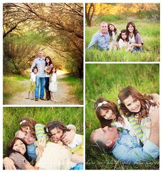 Family picture idea, can't wait to see how much fun the girls would have with this!